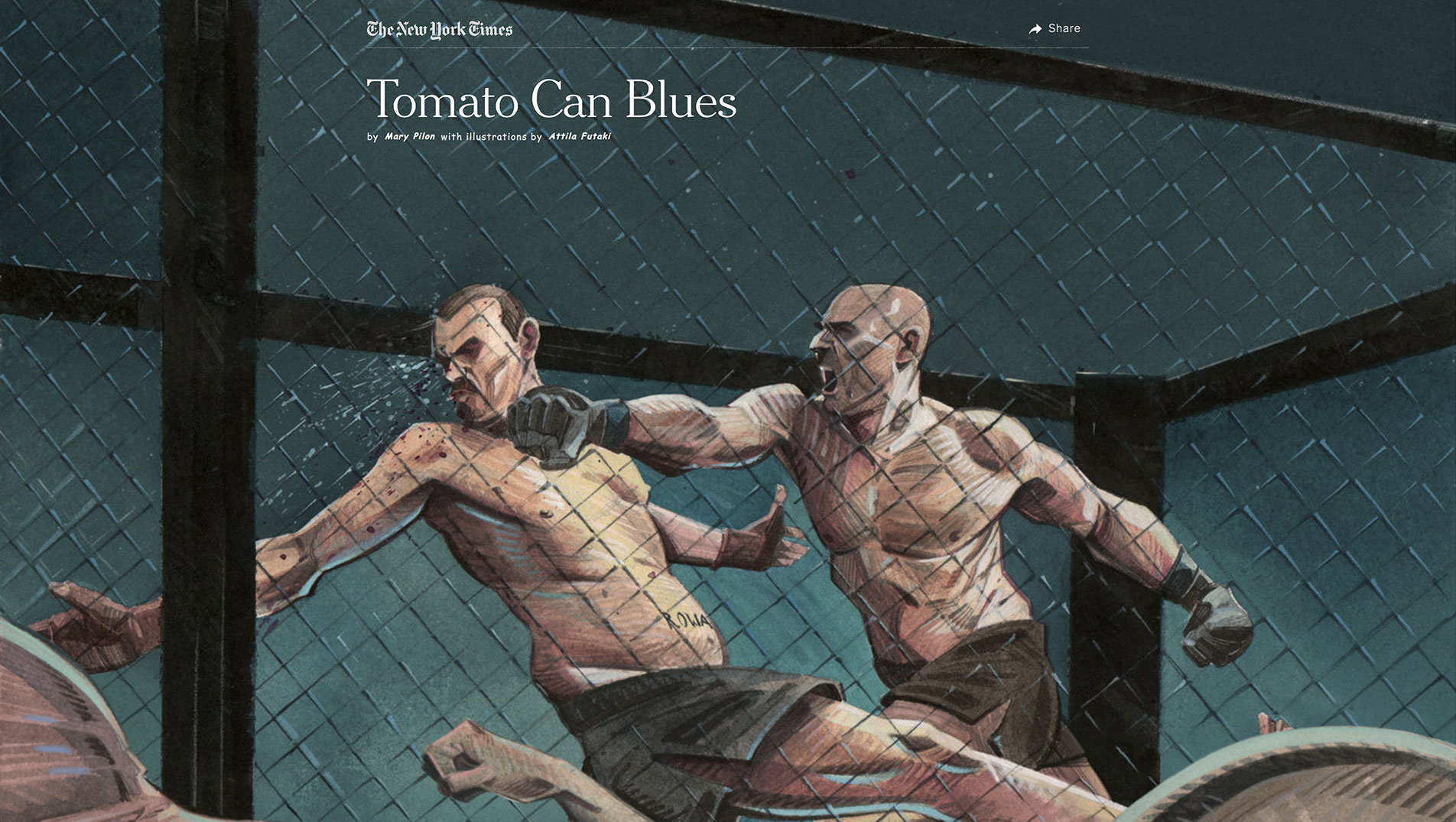 Tomato Can Blues